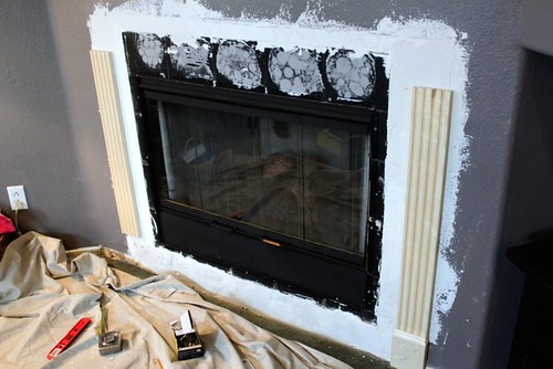 Fireplace Remodel - X