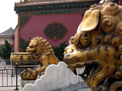 Lions, Forbidden City