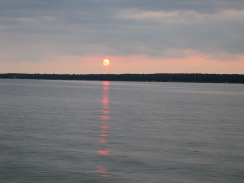 Sunset on Lake Bemidji