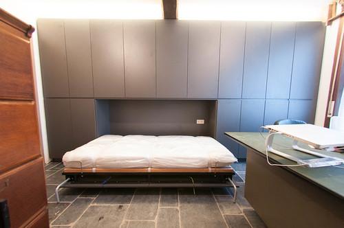Een bed!