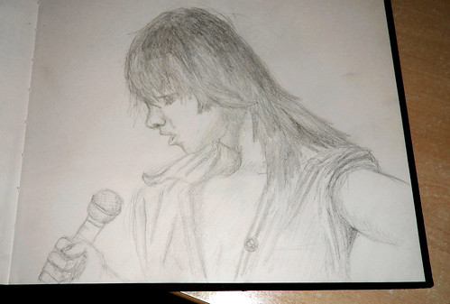 The Singer drawing (Step 1)