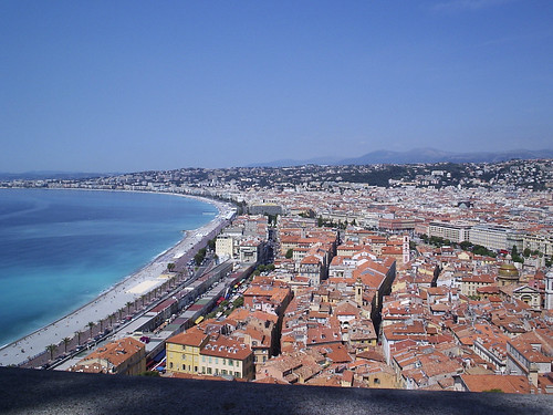 Full view of Nice, France
