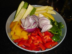 veggies for grilling