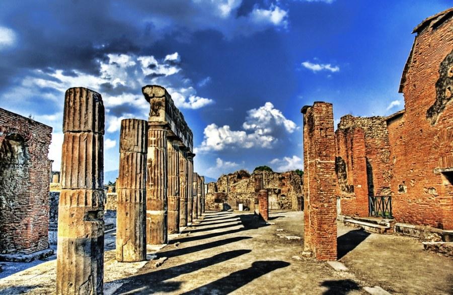 Blue Skies of Pompeii