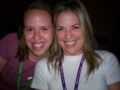 Kathryn from Daring Young Mom and Kelly from Diary of the Nello