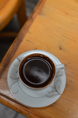 Turkish coffee - delicious and thick