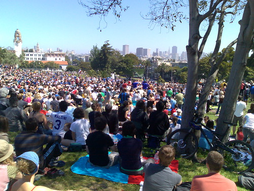 dolores park for world cup