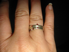 wedding rings - 2 small rings