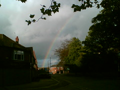 Rainbow over Withington
