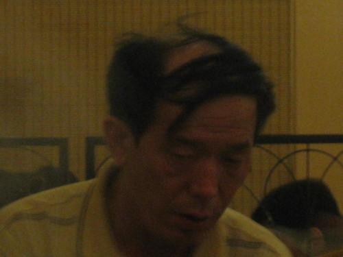 Comb Over Man