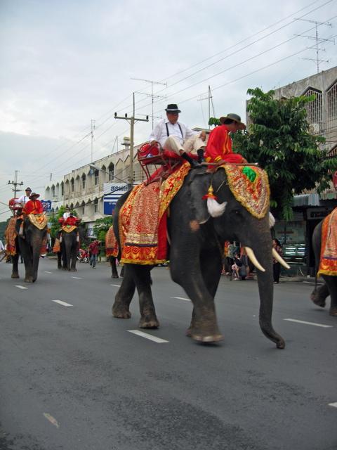 Loy Krathong festival parade