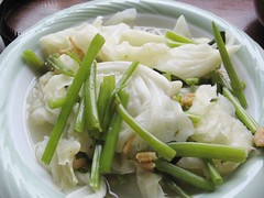 cabbages and 空心菜