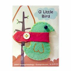 A Little Bird Pin Brooch