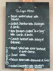 Field Kitchen menu