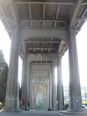 Under the 99 bridge