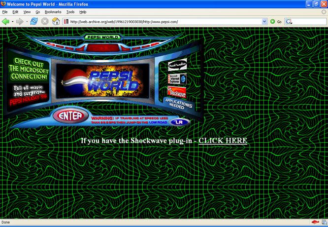 Pepsi en 1996