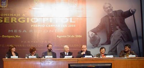 Mesa literaria Sergio Pitol Xalapa Veracruz