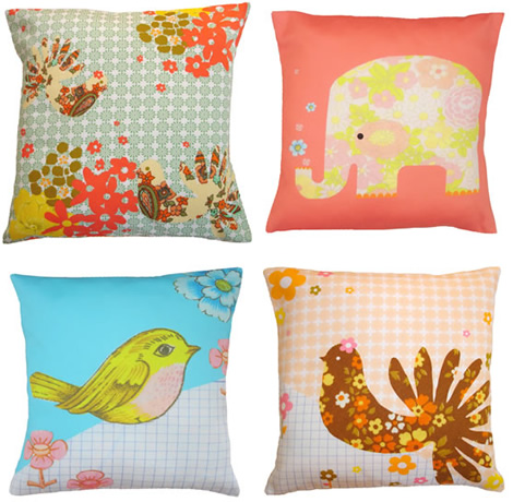 Mini Pillows from Claire Nicolson