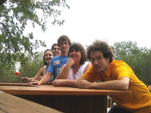 Tiki Bar Family Portrait