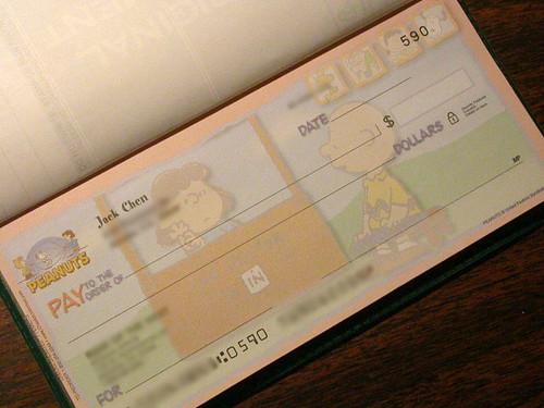 my checkbook 1