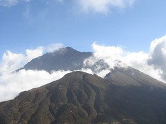 Top of the Mt.Meru from little meru