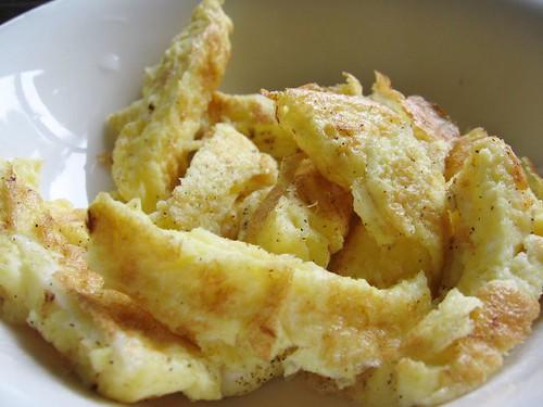 fried eggs- 蛋