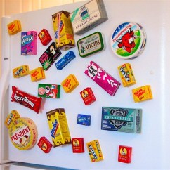 Kitchen Magnets Cement Tile Making Crafty Fridge Evil Mad Scientist Laboratories Your Cabinets Pantry Drawers And Refrigerator Shelves Are Already Filled With Marvelous Little Boxes Baggies Of Goodies