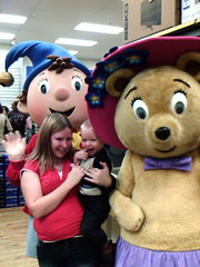 Meeting Noddy & Teddy Bear