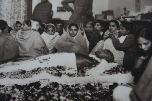 Gandhi in state