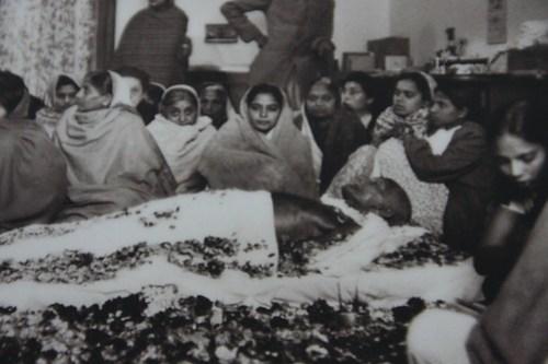 Gandhi in state