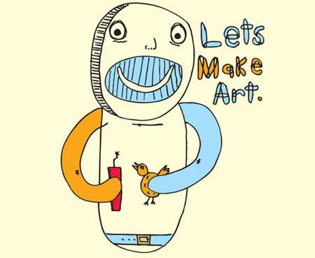 Lets Make Art by Matt Palmer