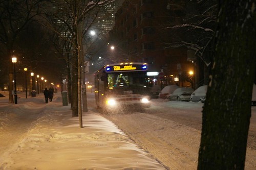 Riding the TTC During Snowmagedon