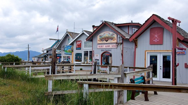 Touristy shops in Homer