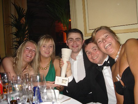 Gillian, Emma, Alan, JK, Mags at PPI Awards
