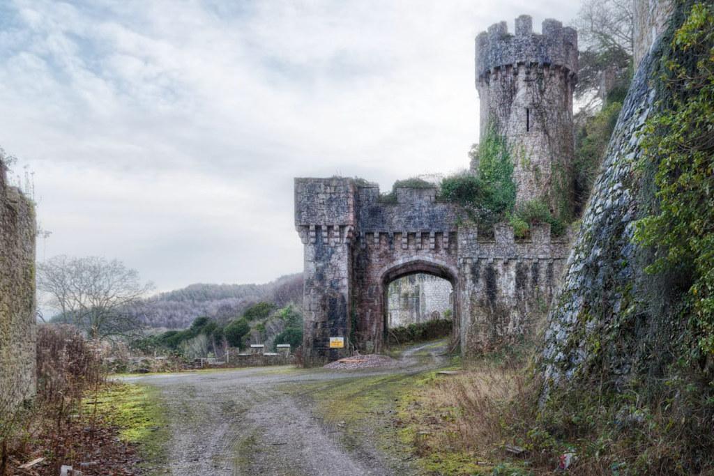 Gwrych Castle Gate