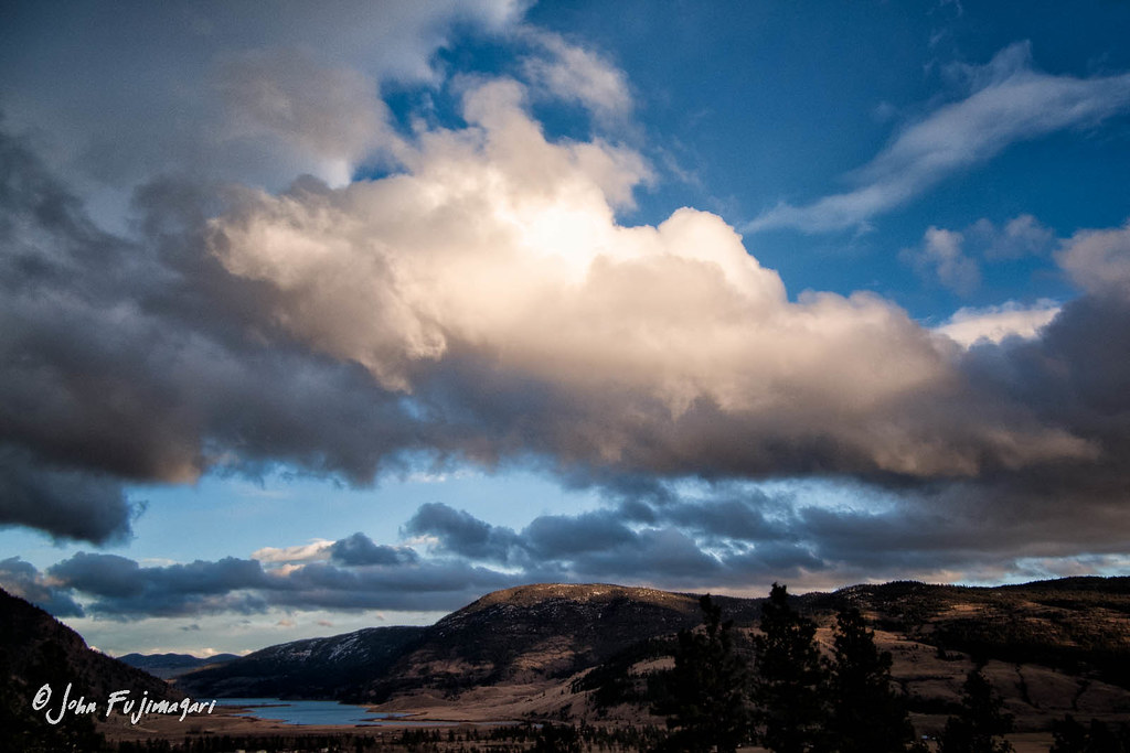 Clouds Over Nicola Lake