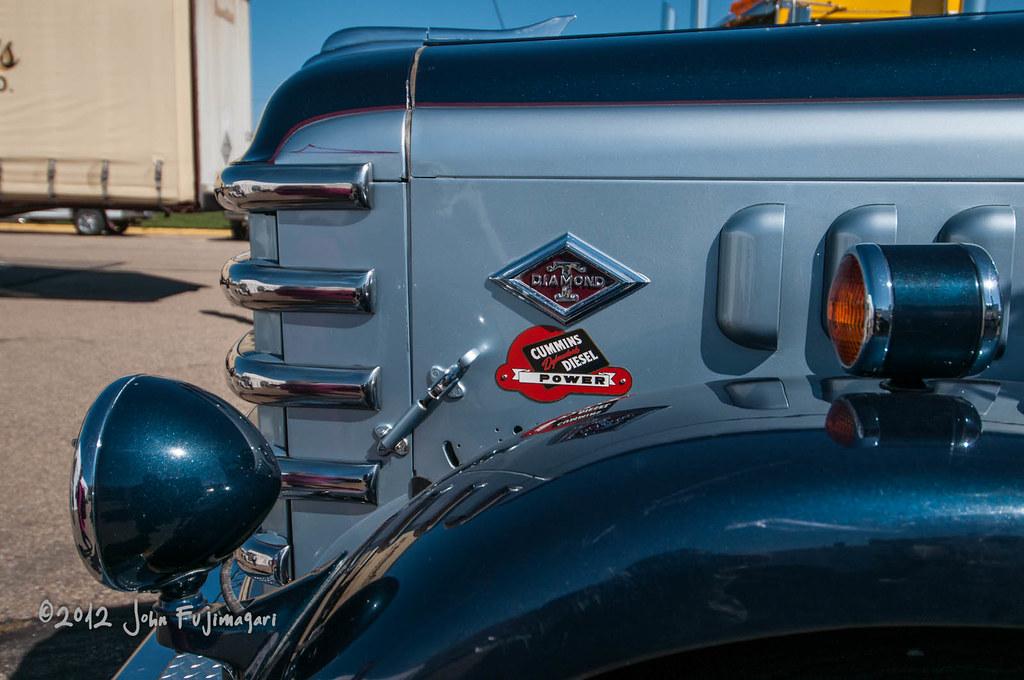 Diamond T Truck Hood