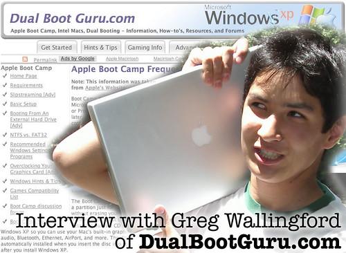 Interview with Greg Wallingford of DualBootGuru.com