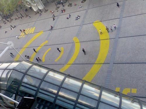 Acceso Wifi en el George Pompidou