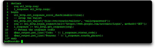 HTTPS Connection using the OWM