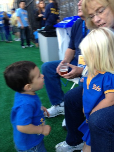 UCLA Football vs. Cal 2012 - bruin bash