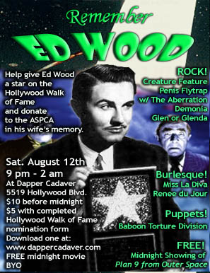 Remember Ed Wood flyer