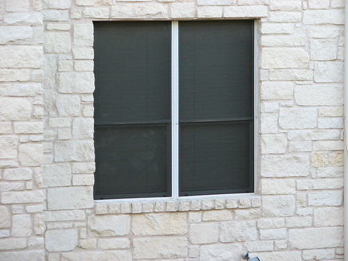 Window with solar screens