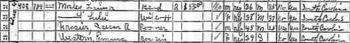 Portion of 1930 Census