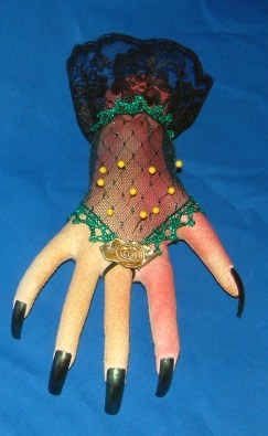 disembodied hand pin cushion