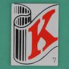 ANAGRAM letter K