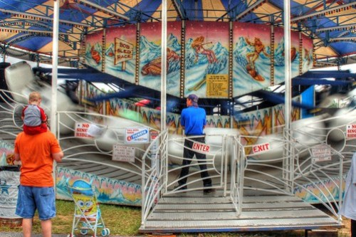 bobsled ride HDR 2
