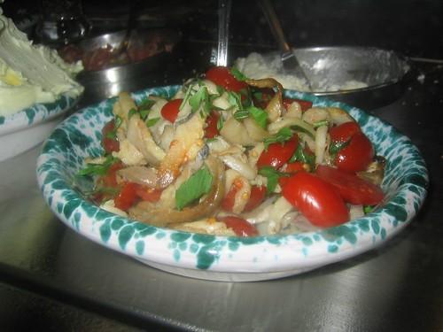 Focaccia Fixins: Italian Ceviche