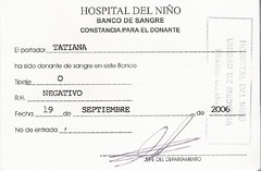 Donacion