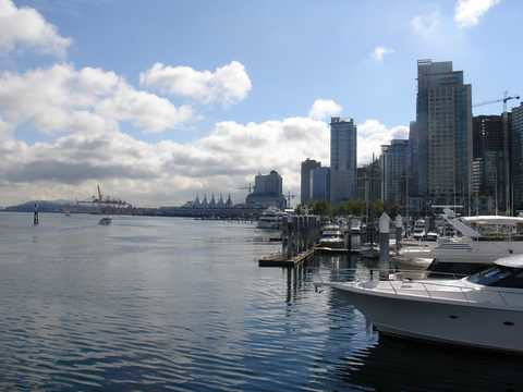 Harbour and Canada Place
